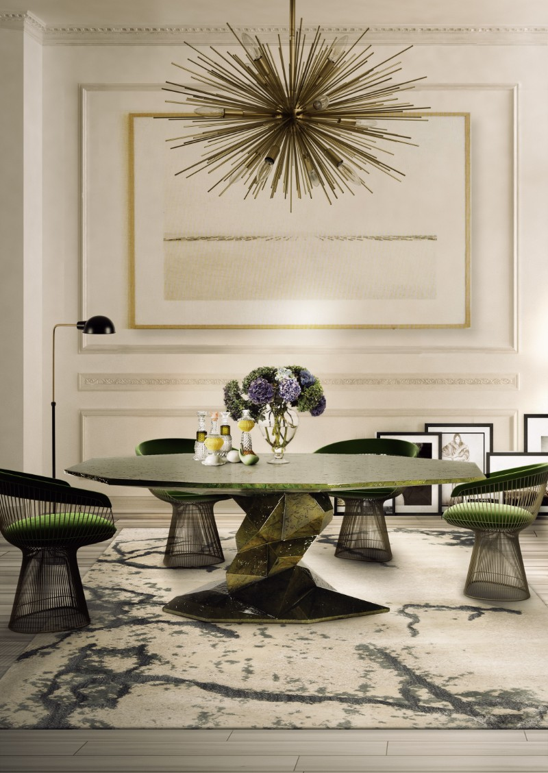 Boca do Lobo: Discover Which Are Our Most Iconic Pieces boca do lobo Boca do Lobo: Discover Which Are Our Most Iconic Pieces Bonsai Dining Table by Boca do Lobo