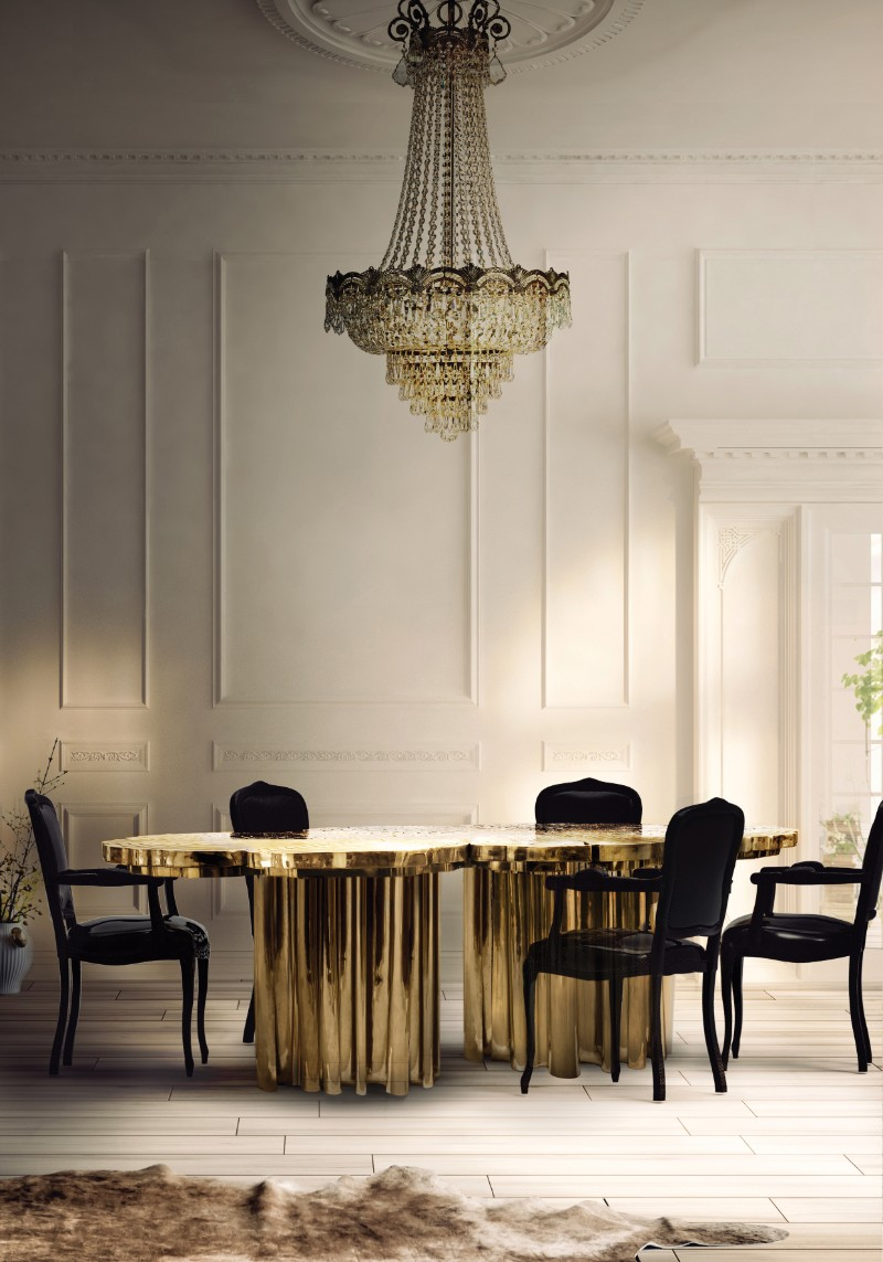 Boca do Lobo: Discover Which Are Our Most Iconic Pieces boca do lobo Boca do Lobo: Discover Which Are Our Most Iconic Pieces Fortuna Dining Table by Boca do Lobo