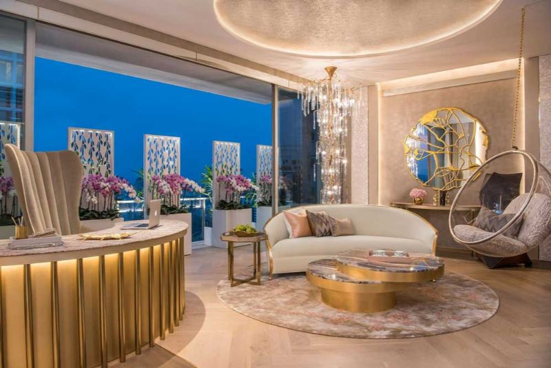 boca do lobo Boca do Lobo's Most Remarkable Interior Design Projects A Glamorous Apartment in the Heart of Singapore