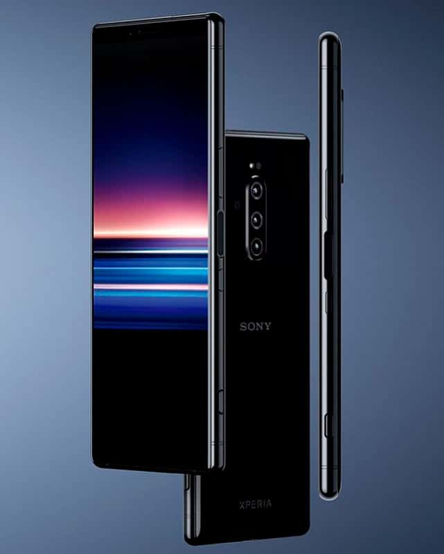 SONY – Xperia 1 un smartphone con pantalla OLED 21:9 CinemaWide™ 4K HDR