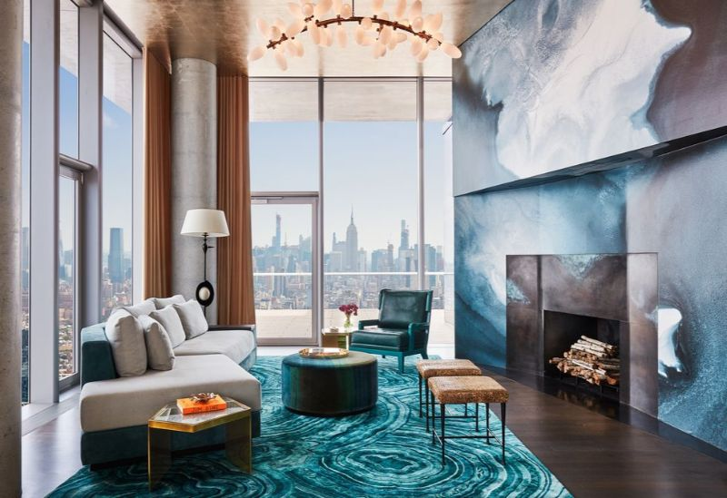 Living In The Clouds - A Modern New York Apartment (2) Living In The Clouds A Modern New York Apartment 2