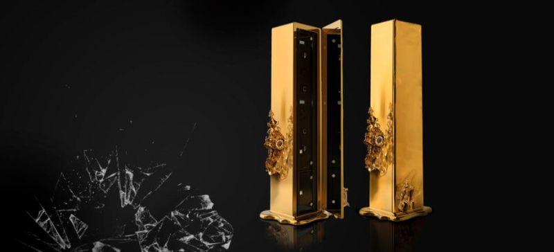 Intriguing Dreamlike Luxury Safes Inspired by Salvador Dalí Dali Safe by Boca do Lobo 1