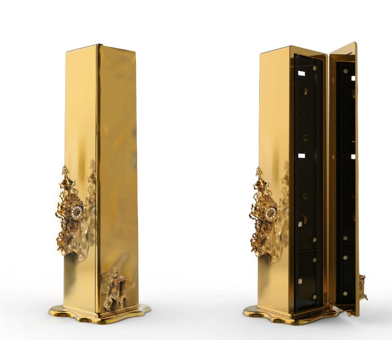 Intriguing Dreamlike Luxury Safes Inspired by Salvador Dalí Dali Safe by Boca do Lobo 2