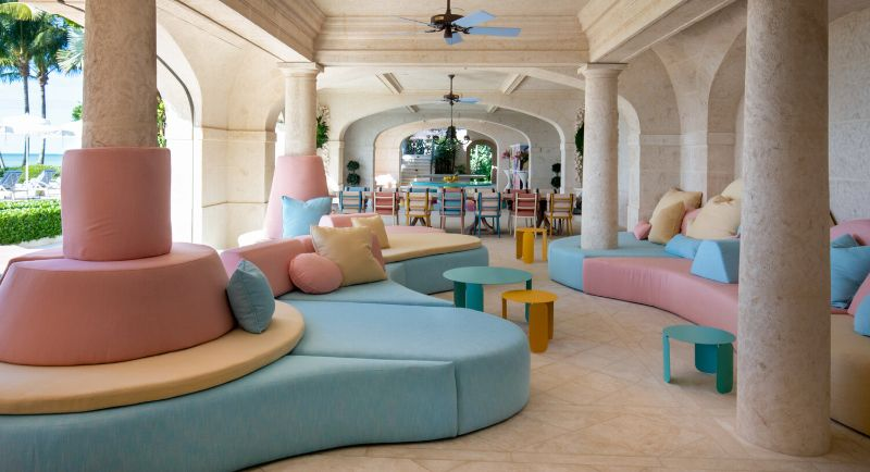 Gulf Coast Home, A Pastel-Colored Paradise By Kelly Behun Gulf Coast Home A Pastel Colored Paradise By KellyBehun 8
