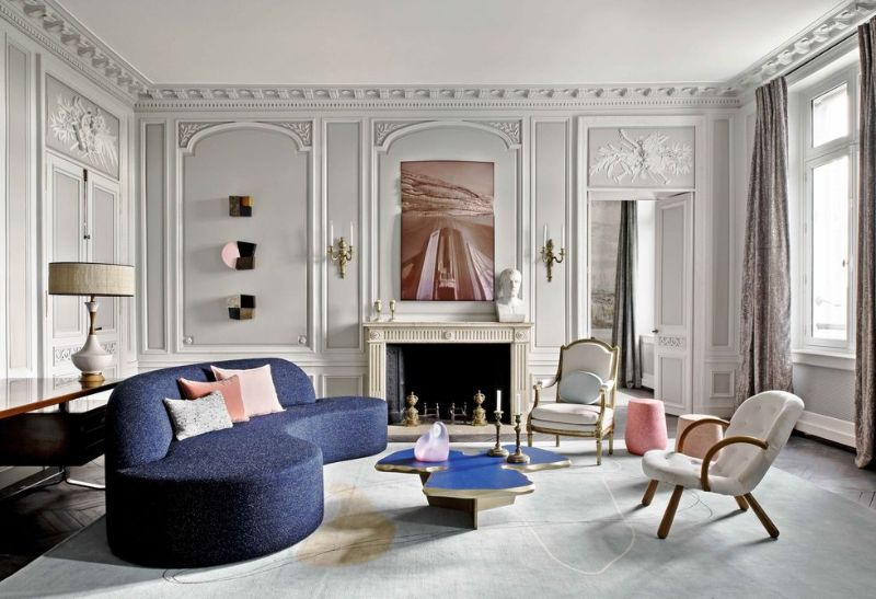 Jean Louis-Deniot's Empire-Era Elegance In A Parisian Luxury Home JeanLouis Deniots Empire Era Elegance In A Parisian Luxury Home 4
