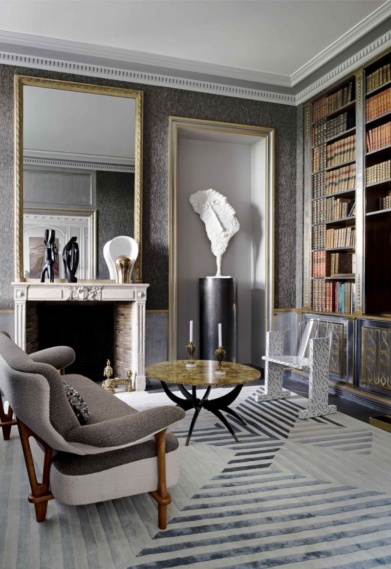 Jean Louis-Deniot's Empire-Era Elegance In A Parisian Luxury Home JeanLouis Deniots Empire Era Elegance In A Parisian Luxury Home 7