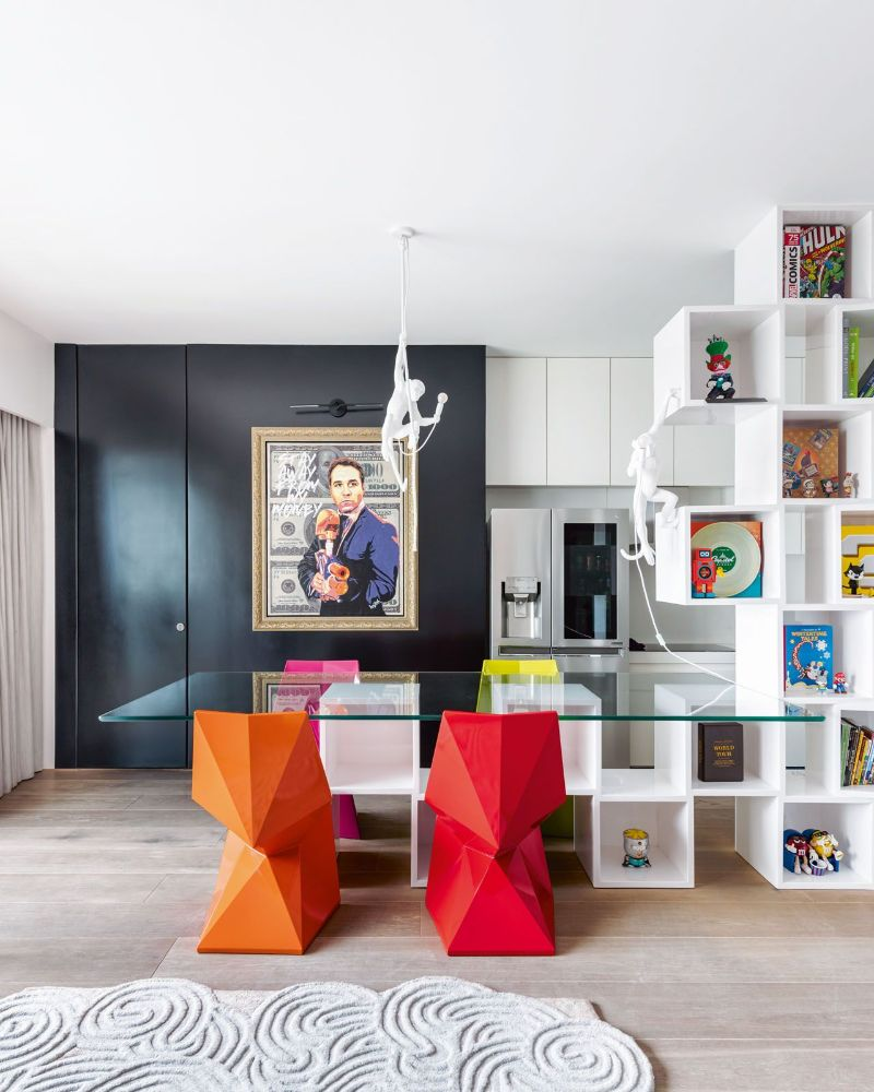 Get The Look Of This Colorful Luxury Home Inspired By Pop Art 11