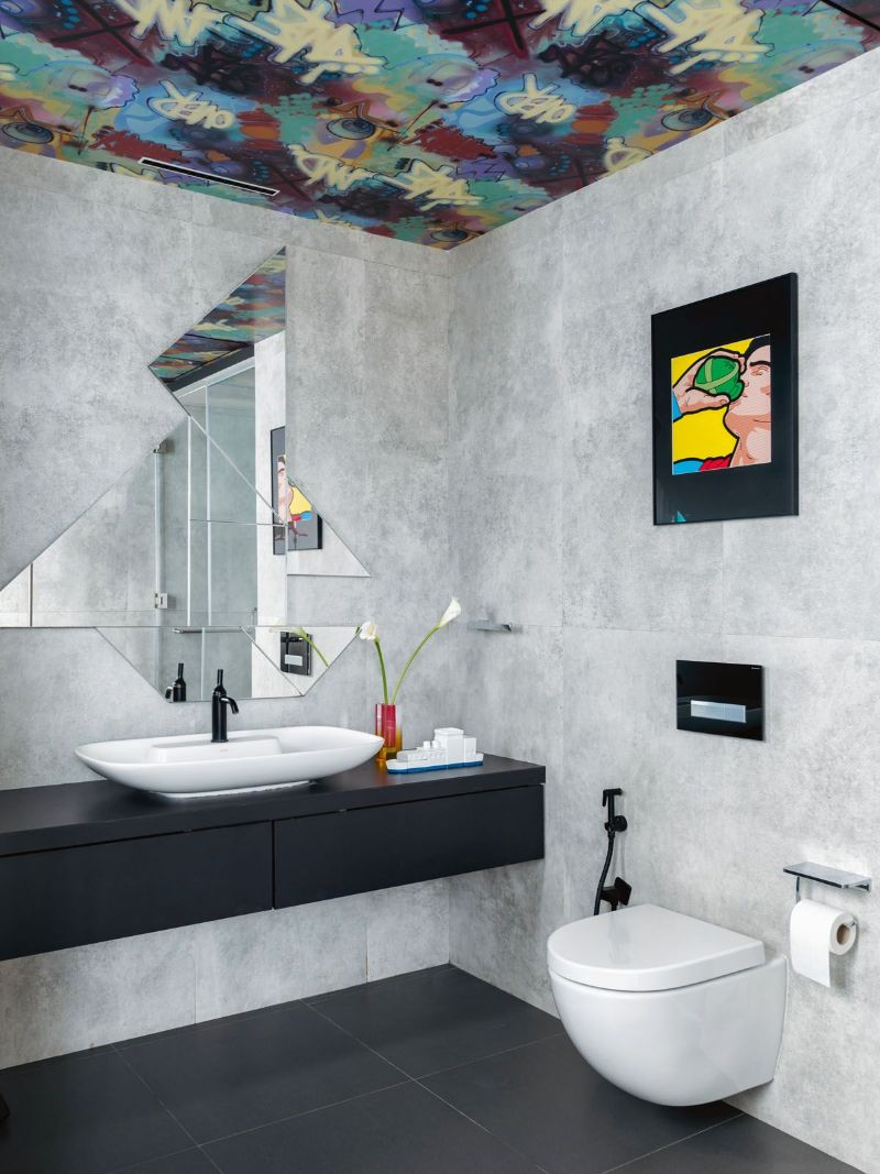 Get The Look Of This Colorful Luxury Home Inspired By Pop Art 14