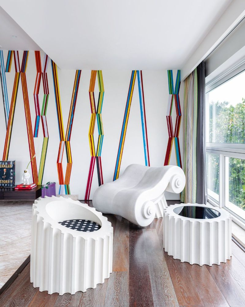 Get The Look Of This Colorful Luxury Home Inspired By Pop Art 16