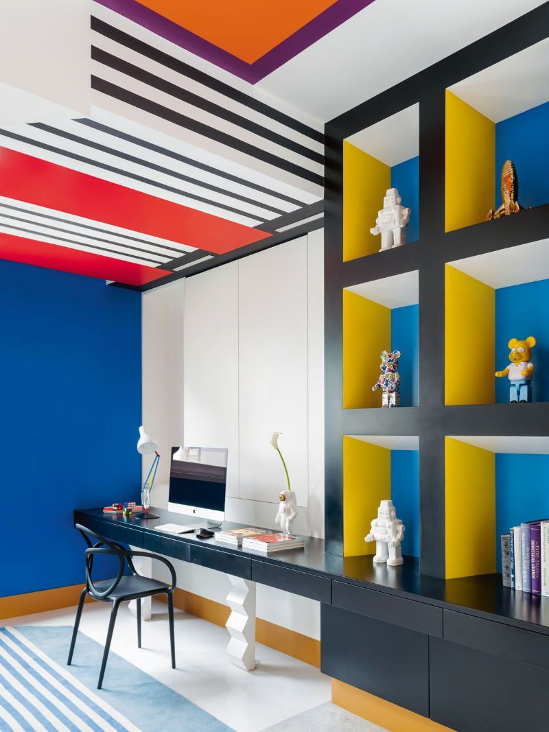 Get The Look Of This Colorful Luxury Home Inspired By Pop Art 17