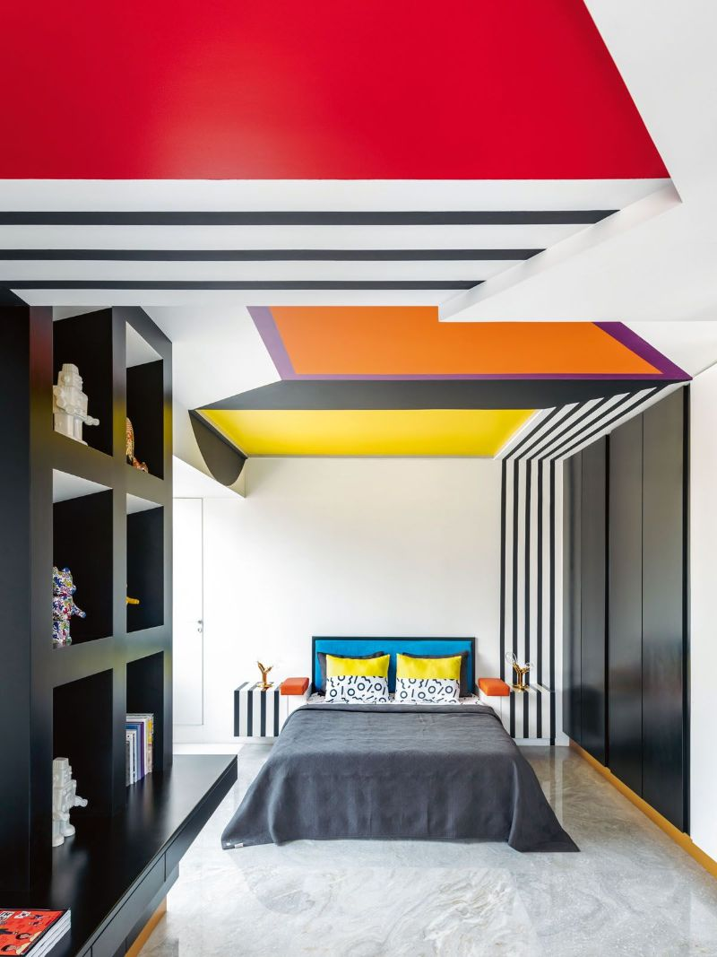 Get The Look Of This Colorful Luxury Home Inspired By Pop Art 18