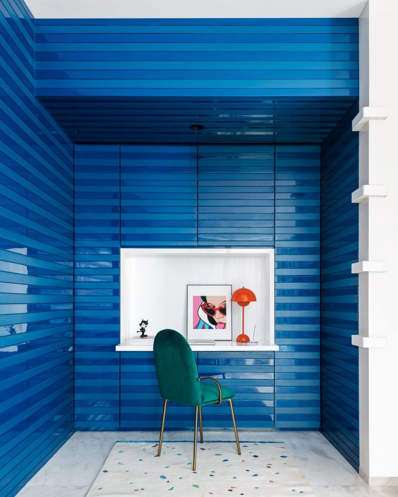 Get The Look Of This Colorful Luxury Home Inspired By Pop Art 21