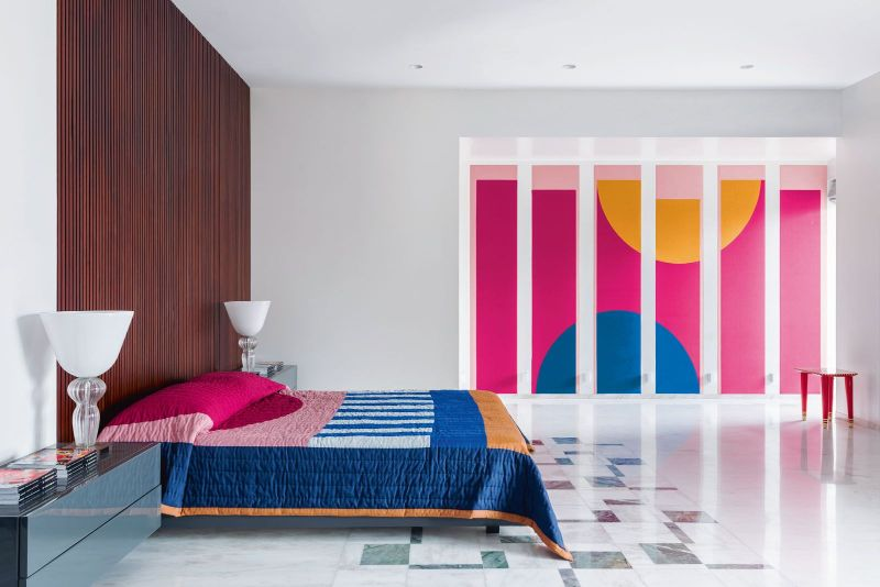 Get The Look Of This Colorful Luxury Home Inspired By Pop Art 3