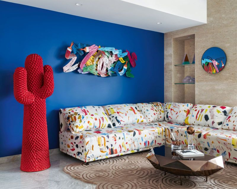 Get The Look Of This Colorful Luxury Home Inspired By Pop Art