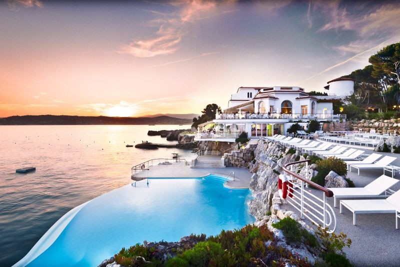 Hotel du Cap Eden Roc swimming pool