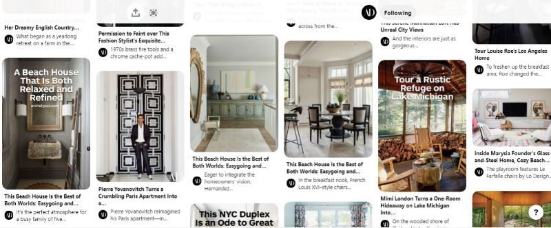 Pin It Like You Mean It! Top 10 Pinterest Accounts To Discover ft   architectural digest
