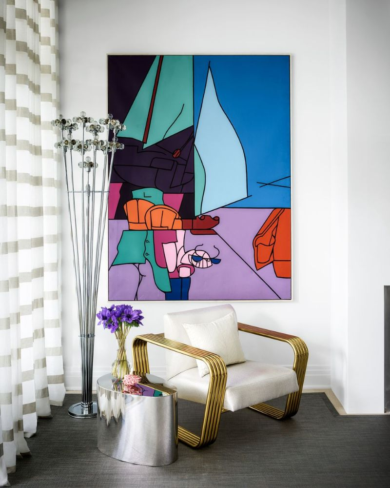 A Luxury Home Filled With Adventurous Paintings And Sculptures   A Luxury Home Filled With Adventurous Paintings And Sculptures 6
