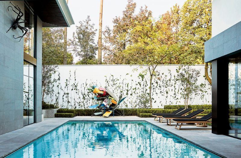 Modern Art By The Poolside: Colorful Summer Ideas To Get Refreshed   Amazing Pools That Epitomize Your Luxury Outdoor Living at Its Finest