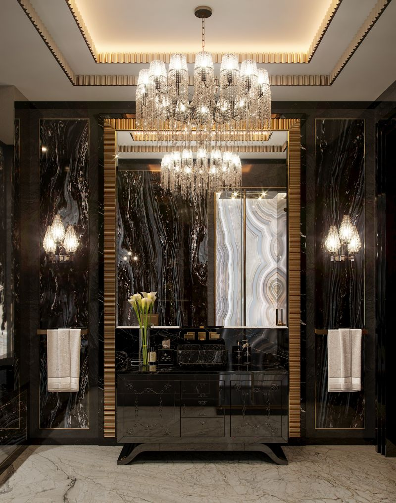 Elena Krylova Designs An Opulent And Glamorous Moscow Mansion   An Over The Top Luxury Manor In Moscow by Elena Krylova 15