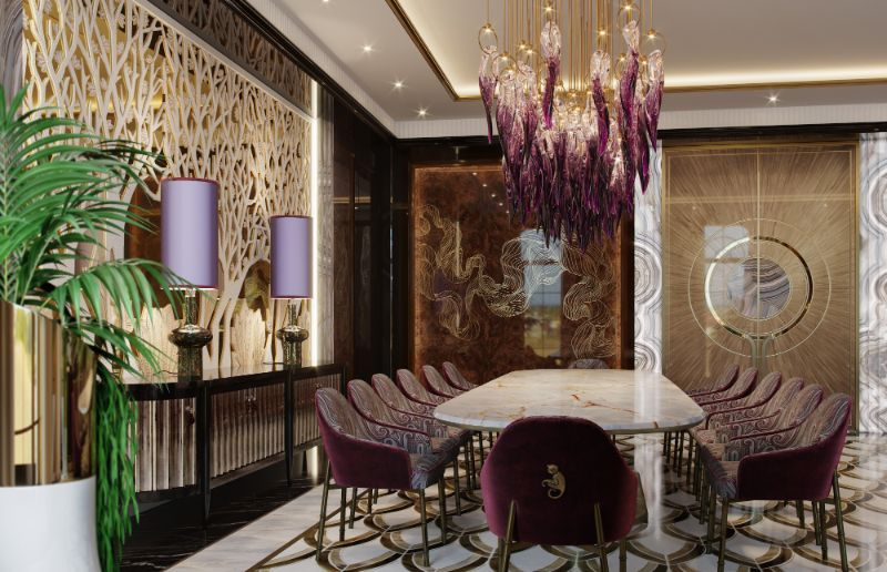 Elena Krylova Designs An Opulent And Glamorous Moscow Mansion   An Over The Top Luxury Manor In Moscow by Elena Krylova 3