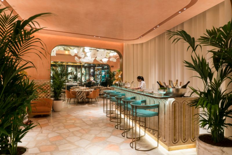 Dubai's Top 10 Luxury Restaurants For One Thousand and One Experiences   Flamingo Room by tashas