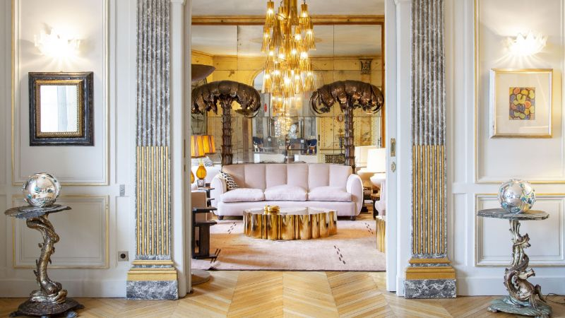 Get The Look Of An Imposing and Multilayered Paris Luxury Apartment   Get The Look Of An Imposing and Multilayered Paris Luxury Apartment