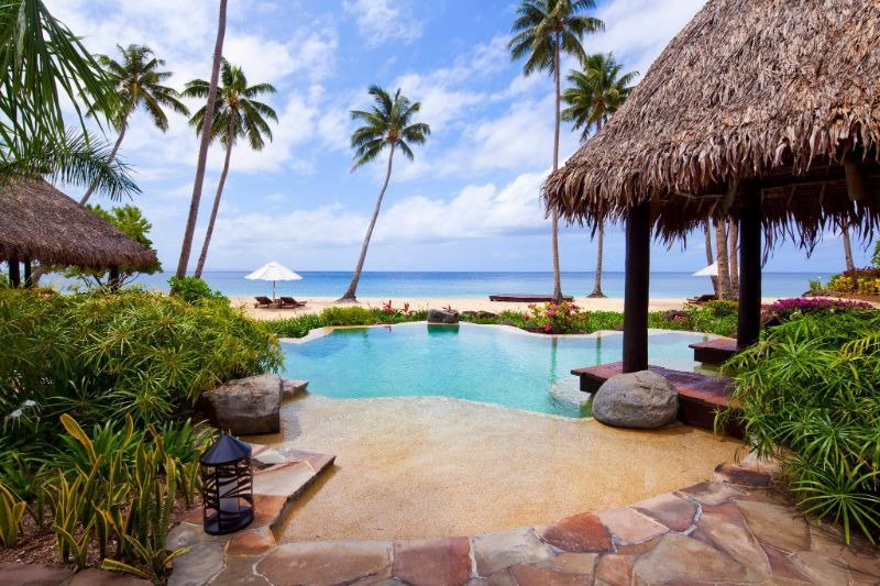 The Five Most Expensive Vacation Spots In The World   Hilltop Villa at the Laucala Island Resort Laucala Island Fiji