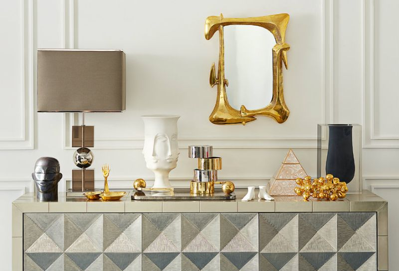Modern Mirrors That Go Well With Your Buffets and Cabinets   Mirrors That Go Well With Your Buffets and Cabinets 9 1