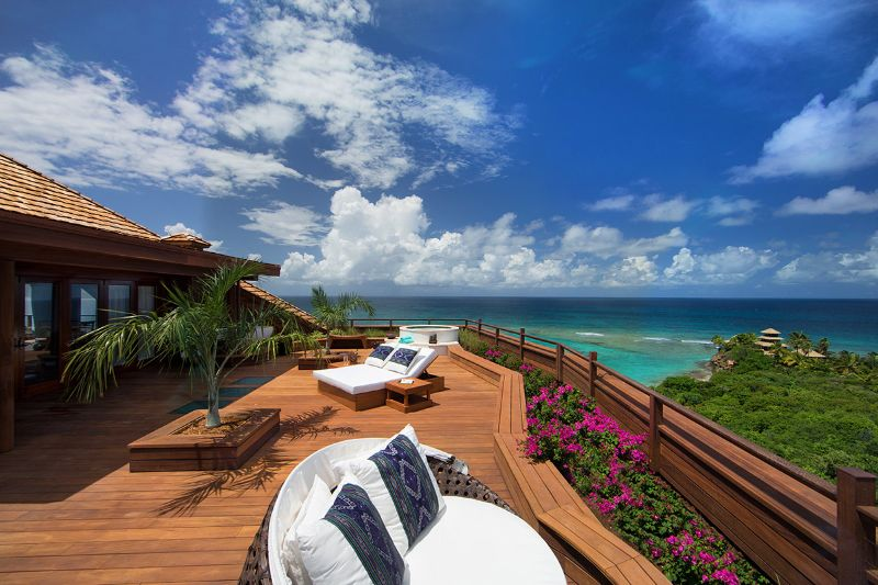 The Five Most Expensive Vacations Spot In The World   Necker Island Caribbean