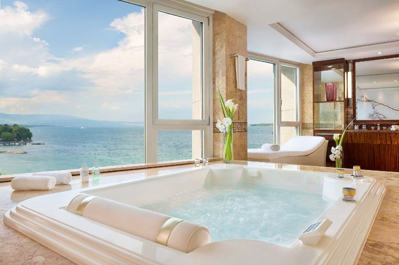 The Five Most Expensive Vacations Spot In The World   Royal Penthouse at the President Wilson Hotel Geneva 2