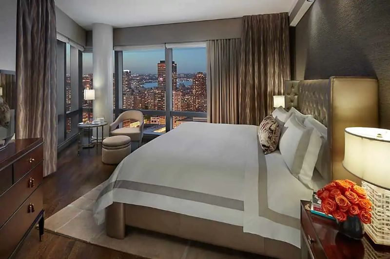 The Five Most Expensive Vacations Spot In The World   Suite 5000 at the Mandarin Oriental NYC 1