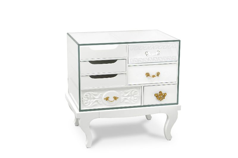 Exquisite Nightstands By Boca do Lobo: The Best Of Fine Craftsmanship   soho bedside white 02
