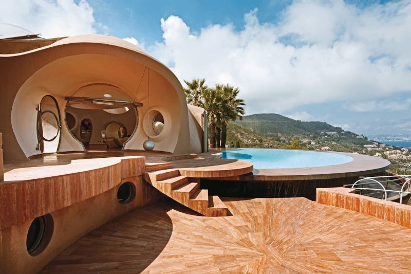 From London To Texas: The 10 Most Expensive Homes In The World   Pierre Cardin   s Bubble Palace France