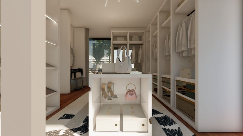 Walk-In Closets Of Your Dreams: Intimate and Elegant Spaces For You   Tailored For You Boca do Lobo And Jimmy Choos Luxury Walk In Closet 12