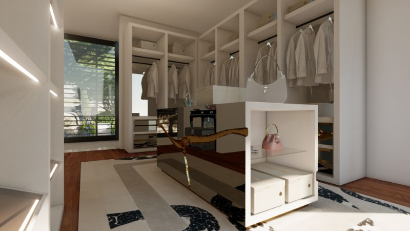 Walk-In Closets Of Your Dreams: Intimate and Elegant Spaces For You   Tailored For You Boca do Lobo And Jimmy Choos Luxury Walk In Closet 9