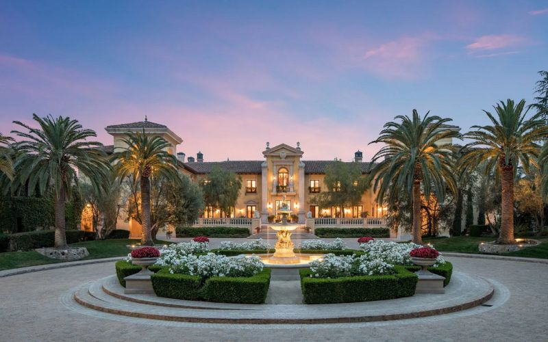 From London To Texas: The 10 Most Expensive Homes In The World   Villa Firenze Beverly Park California