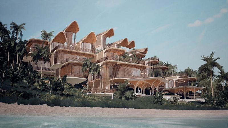 Zaha Hadid Architects' Latest Project Hidding In A Caribbean Island