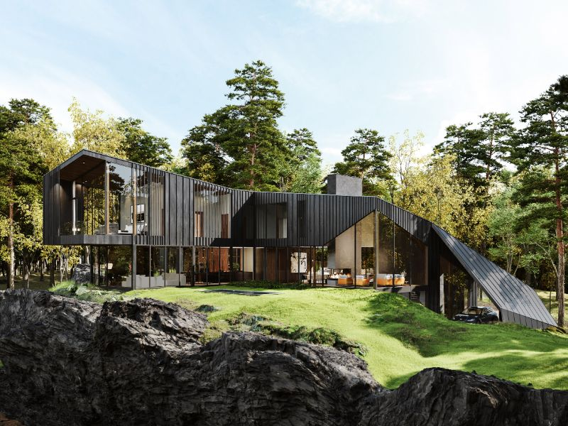 Aston Martin Designs First Residential Project, Sylvan Rock   Aston Martin Designs First Residential Project Sylvan Rock 1