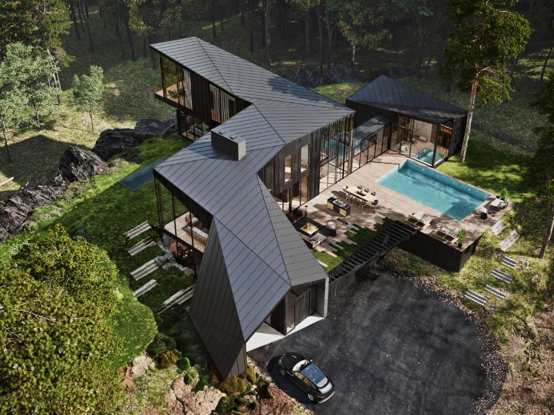 Aston Martin Designs First Residential Project, Sylvan Rock   Aston Martin Designs First Residential Project Sylvan Rock 2