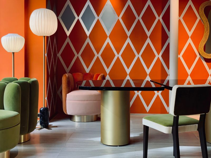 India Mahdavi and De Gournay - An Utterly Sophisticated Collaboration IndiaMahdavi and DeGournay An Utterly Sophisticated Collaboration 15