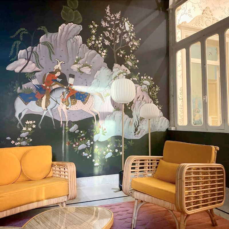 India Mahdavi and De Gournay - An Utterly Sophisticated Collaboration IndiaMahdavi and DeGournay An Utterly Sophisticated Collaboration 16