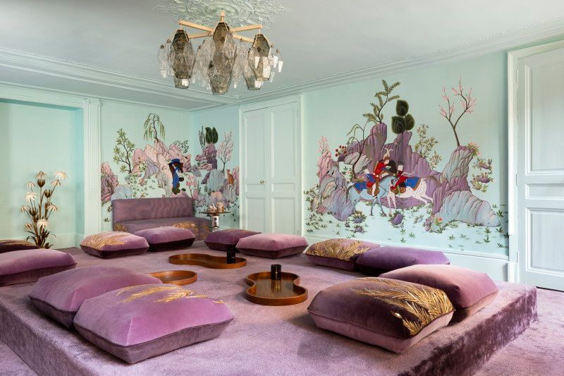 India Mahdavi and De Gournay's Collaboration Inspired By Persian Art