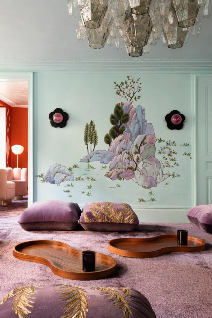 India Mahdavi and De Gournay - An Utterly Sophisticated Collaboration IndiaMahdavi and DeGournay An Utterly Sophisticated Collaboration 4 683x1024