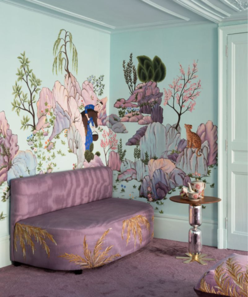 India Mahdavi and De Gournay - An Utterly Sophisticated Collaboration IndiaMahdavi and DeGournay An Utterly Sophisticated Collaboration 6