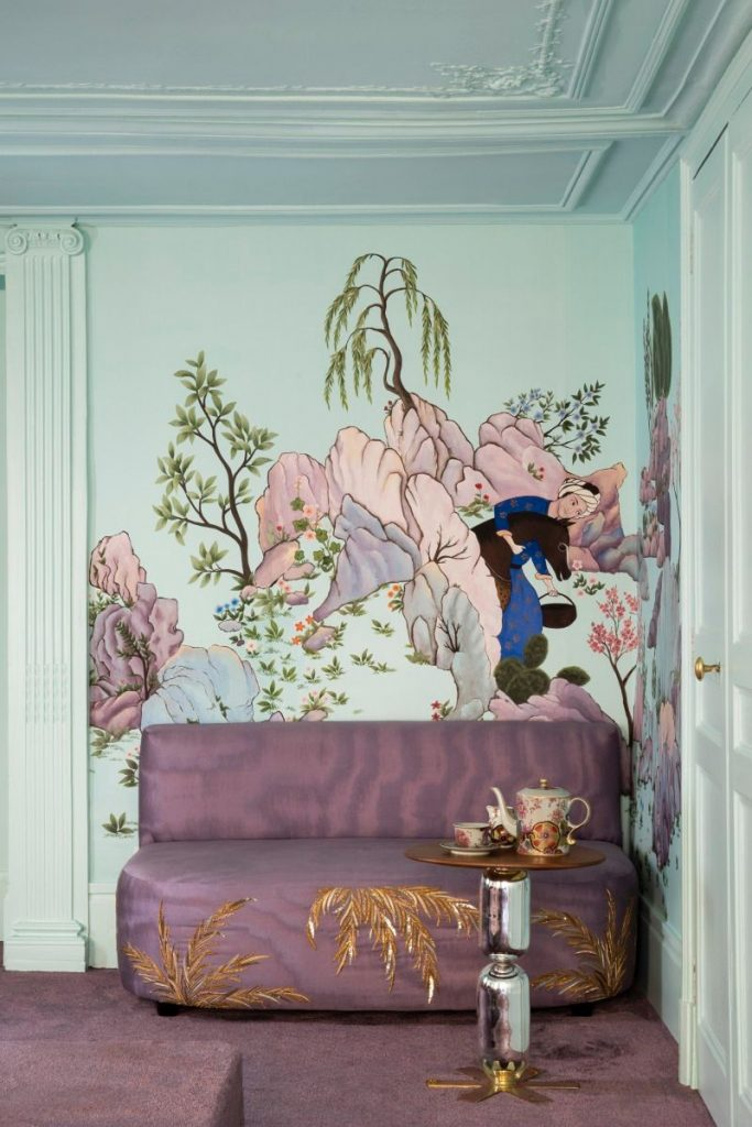 India Mahdavi and De Gournay - An Utterly Sophisticated Collaboration IndiaMahdavi and DeGournay An Utterly Sophisticated Collaboration 683x1024