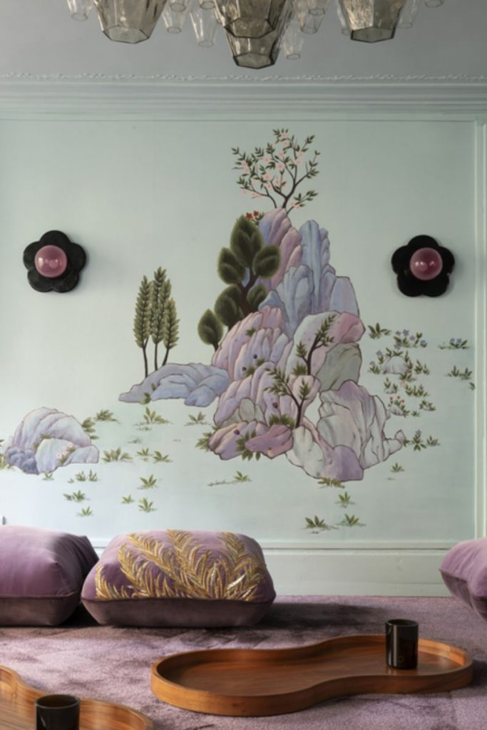 India Mahdavi and De Gournay - An Utterly Sophisticated Collaboration IndiaMahdavi and DeGournay An Utterly Sophisticated Collaboration 8 683x1024