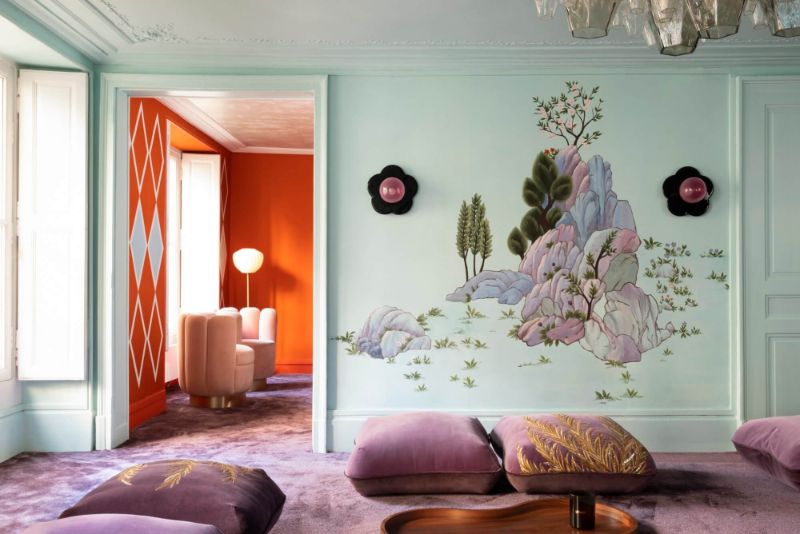 India Mahdavi and De Gournay - An Utterly Sophisticated Collaboration IndiaMahdavi and DeGournay An Utterly Sophisticated Collaboration 9