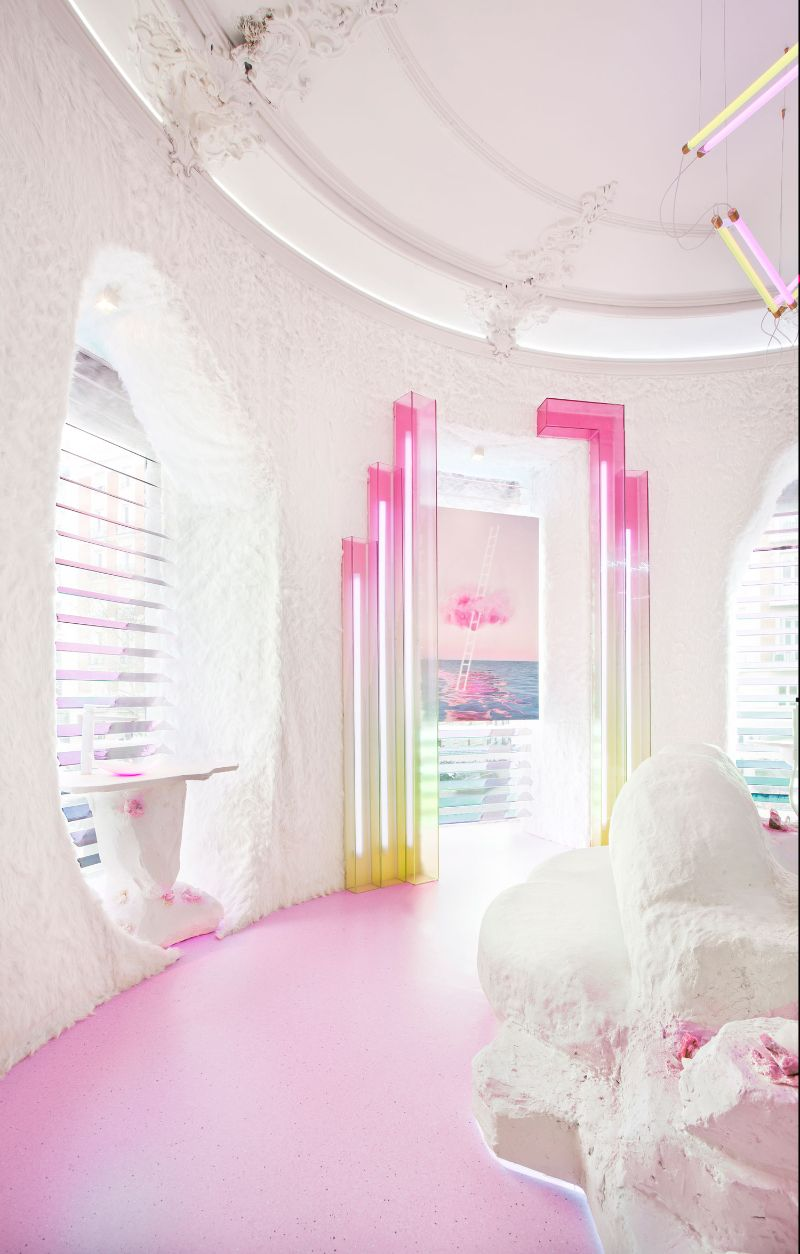Patricia Bustos Studio Creates A Neon-Inspired Bathroom Design (9)   Patricia Bustos Studio Creates A Neon Inspired Bathroom Design 9