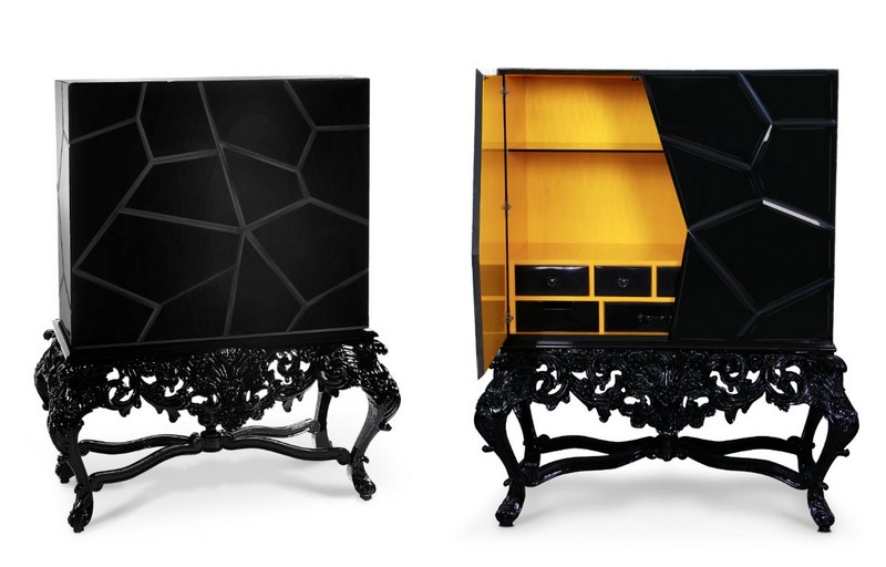 Get Ready For Halloween - Art Furniture for Your Spooky Home Design   dark furniture desing inspirarions 17