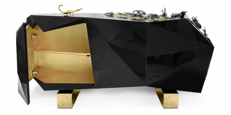 Get Ready For Halloween - Art Furniture for Your Spooky Home Design   dark furniture desing inspirarions 4